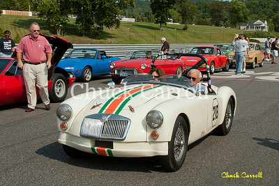 Lime Rock Vintage Weekend - Thursday Parade