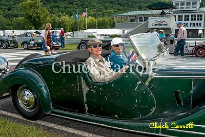 Lime Rock Park Historic Festival -  Vintage & Historic Race Car Parade -  August 2014