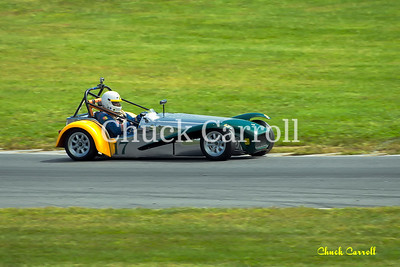 Lime Rock Vintage Weekend - Monday 2012 - Paul Stinson - Lotus Super 7