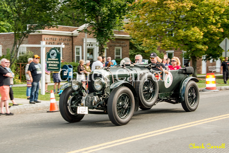 Limerock Vintage Race Car Parade - 9-01-2016 -  Chuck Carroll