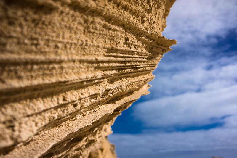 Sheer Limestone Rock