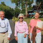 Bob and Elizabeth Martin, Nina Bonnie.