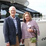Kenucky Senator Ernie Harris and Executive Director Louise Allen.