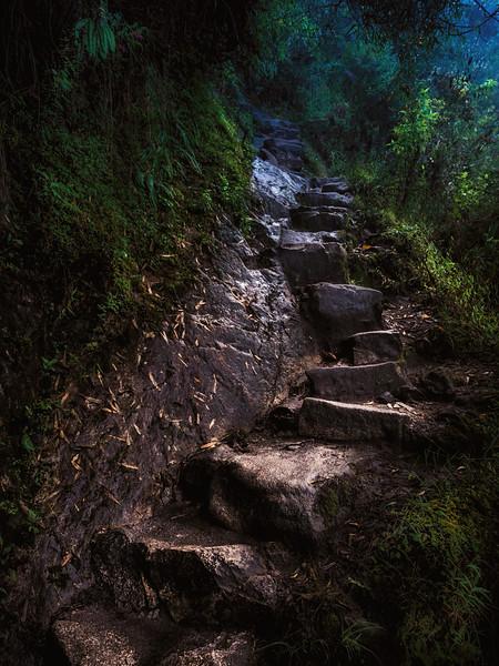 Golden Inca Stairs of Waynepicchu