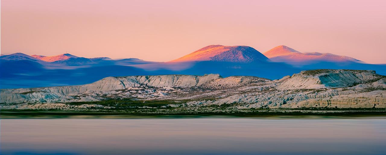 Pastel Brushed Sunset