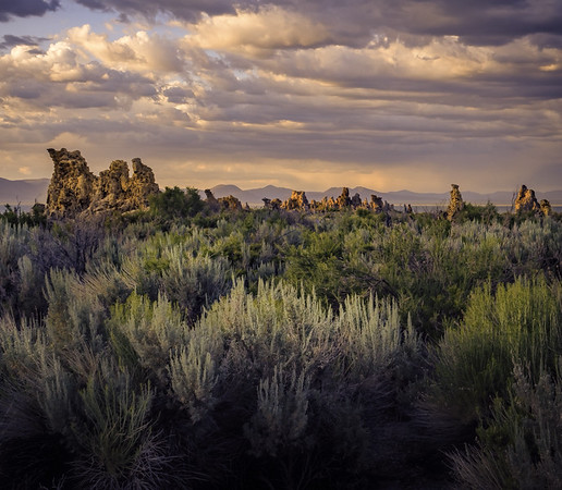 Sage Tufa Clouds