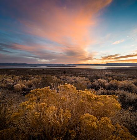 Morning Sky Mono Lake