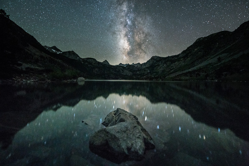 South Lake Milky Way