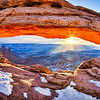 """Fire above Ice"" - Canyonlands National Park, Utah"