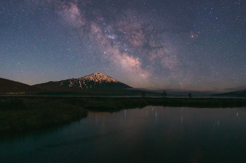 Mount Bachelor Milky Way