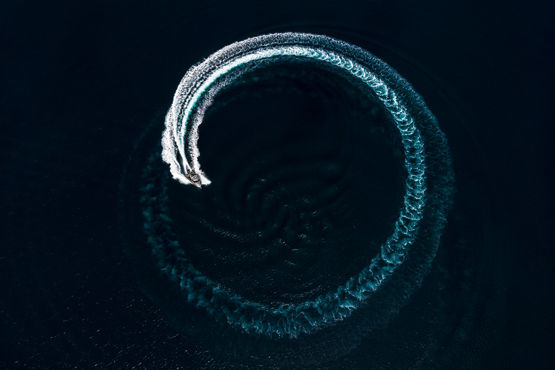 Spiral Wake