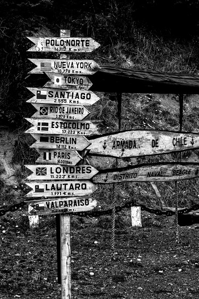 Sign at the End of the World