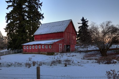 """""""The Red Barn"""" Limited Edition: 10 Prints"""