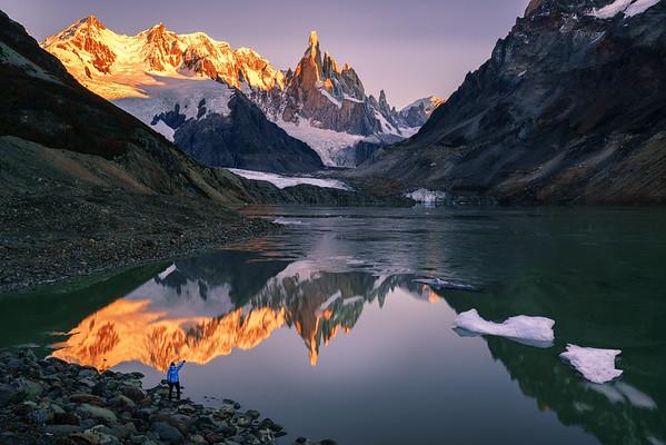 Sunrise Cerro Torre
