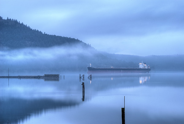 """""""Anchor Watch"""" - Limited Edition Print - Cowichan Bay, BC, Canada"""