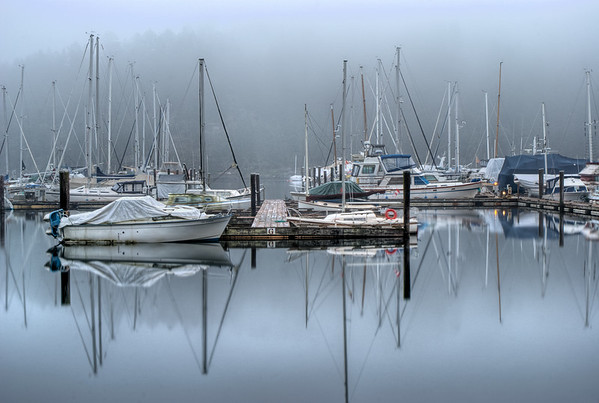 """Misty Reflection"" - Vancouver Island, BC, Canada"
