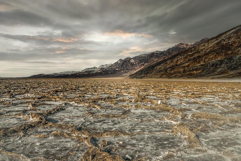 Salt Flats, Death Valley, ©2021