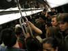 """""""Nuit Blanche #3""""<br /> Paris Metro<br /> Print Size: 13h x 19 w"""
