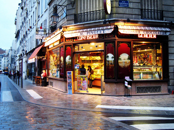 "Parisian Bakery<br /> 13""X19"""