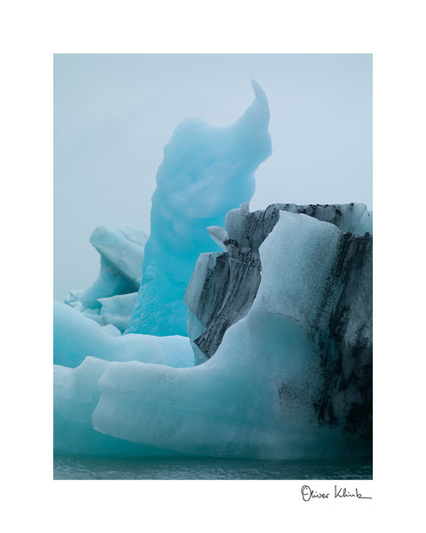 "Title: 	Ice Cream Cone<br /> Location:	Iceland<br /> Size (Framed):	11""x9""<br /> Price:	$90<br /> Description:	The glacier created me. The sun and rain gave me my final shape. I am melting."