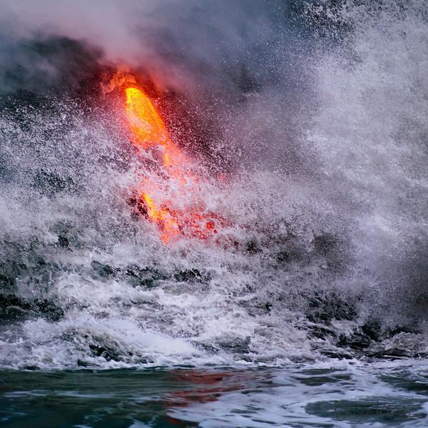 45. Lava Study #5