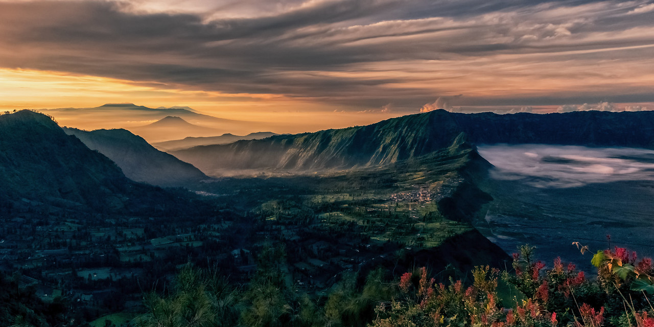 Cemoro Lawang at First Light