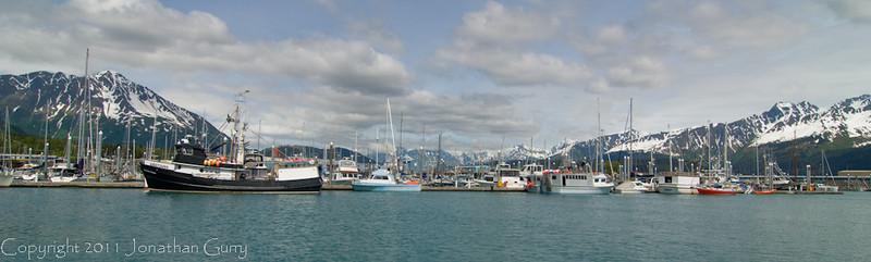 1323 - Seward, Alaska harbor.