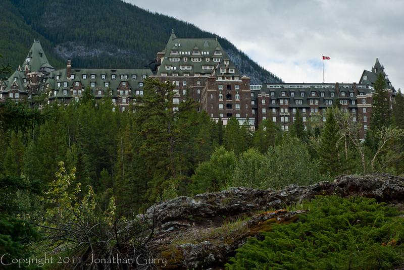 1268 - Banff Springs Hotel, Banff National Park, Alberta, Canada.