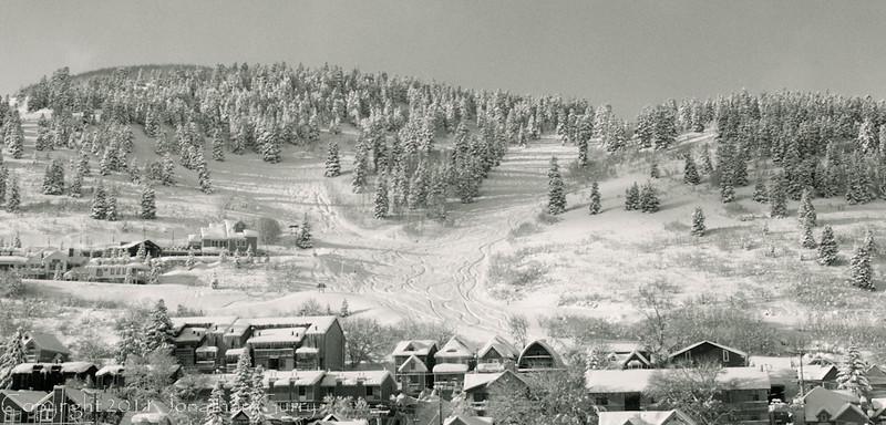 1017 - Park City, Utah a sunny morning after a fresh snowfall.