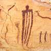 1029 - Ancient Pictographs outside Goblin Valley. Southern Utah.