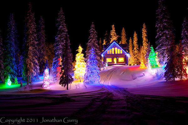 1357 - Holiday Cabin, Alaska.