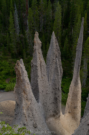 1002 - The Pinnacles at Crater Lake National Park, Oregon