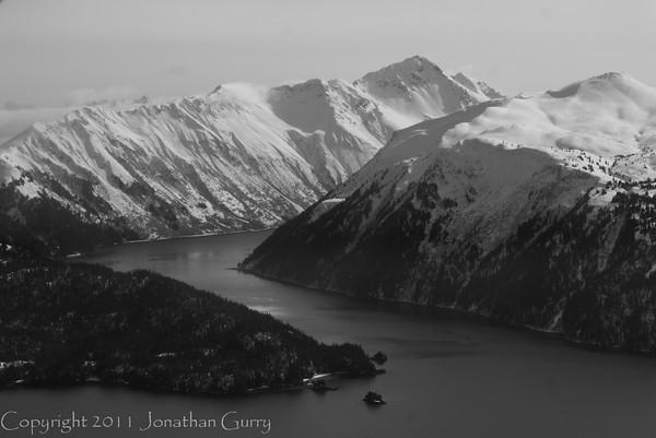 1307 - Chugach Mountains from the air.  Homer, Alaska.