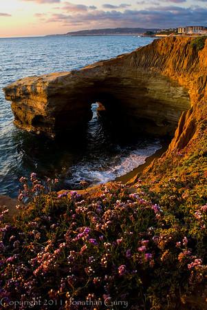 1136 - Sunset Cliffs. Encintas, California.