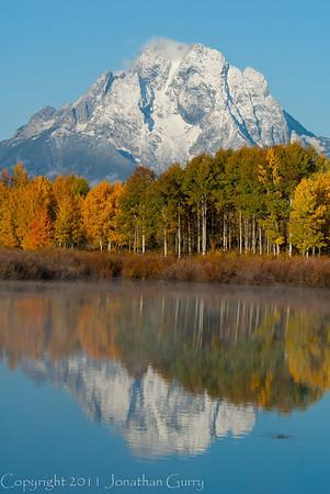 1068 - Mt. Moran, Grand Teton National Park, Wyoming.