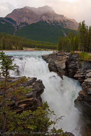 1275 - Absorbca Falls, Jasper National Park, Alberta, Canada.