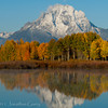 1067 - Mt. Moran, Grand Teton National Park, Wyoming.