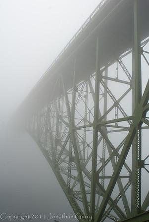 1144 - Deception Pass Bridge, Whidbey Island, Utah.