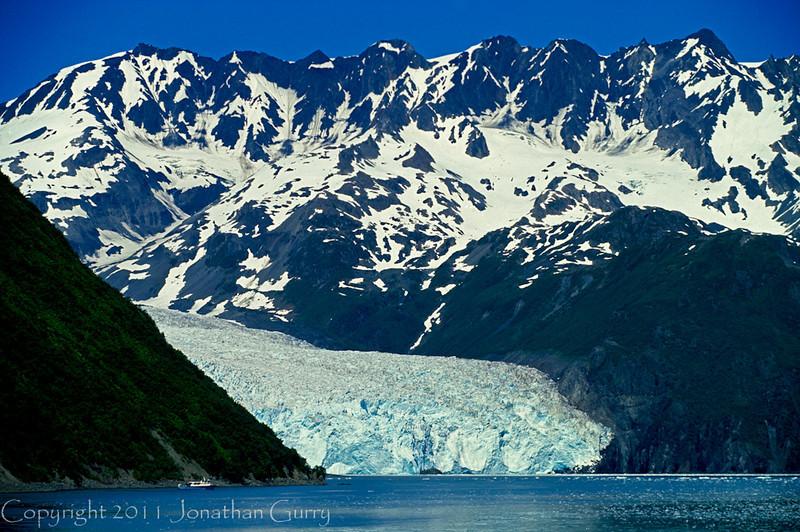 1030 - Glacier, Kenai Fjords National Park, Alaska.