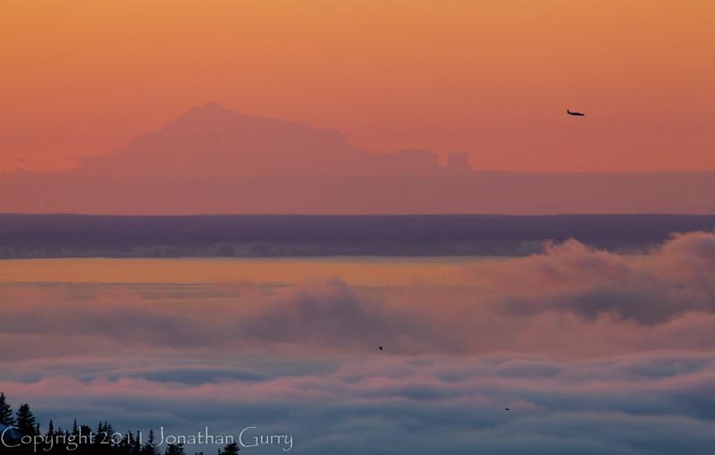 1354 - Sunset over Anchorage, Alaska.