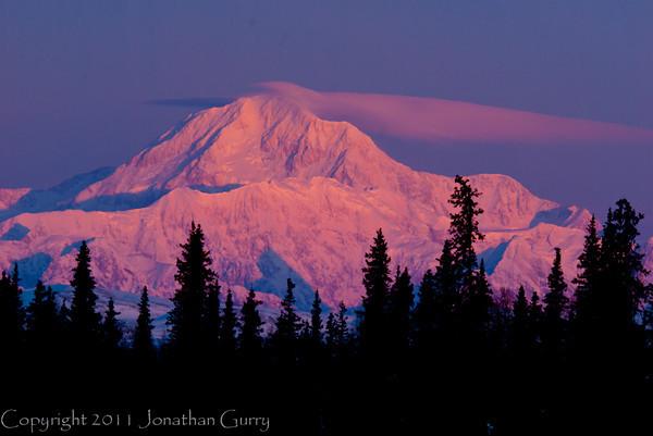 1300 - Denali Sunrise, Alaska Range, Alaska.