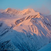 1360 - Chugach Mountains at Sunset, Alaska