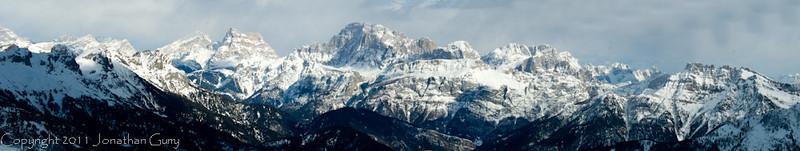 1186 - Dolomites, Northern Italy.