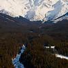 1361 - Chugach Mountains from the air.  Alaska.