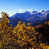 1021 - Mt. Timpanogos in fall.  Wasatch Mountains, Utah.