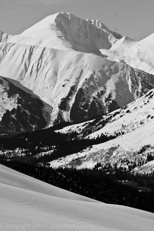 1309 - Chugach Mountains in Turnagain Pass, Alaska.