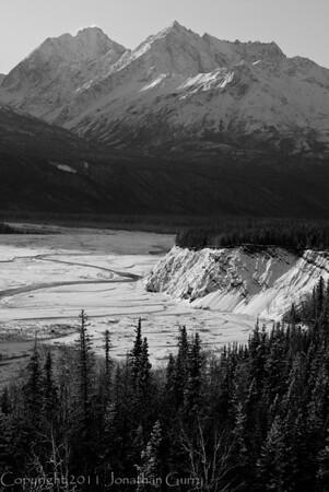 1291 - Matanuska Valley, Chugach Mountains, Alaska.