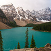 1266 - Saint Mary Lake in the Valley of the 10 Peaks.  Banff National Park, Alberta, Canada.