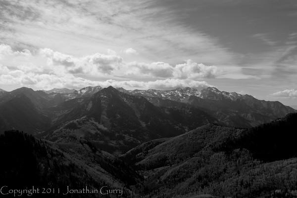1076 - Wastch Mountains, Utah.