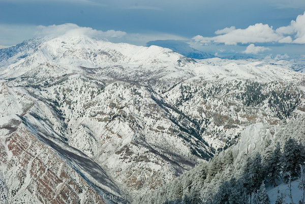 1181 - Northern Wasatch Mountains, Utah.